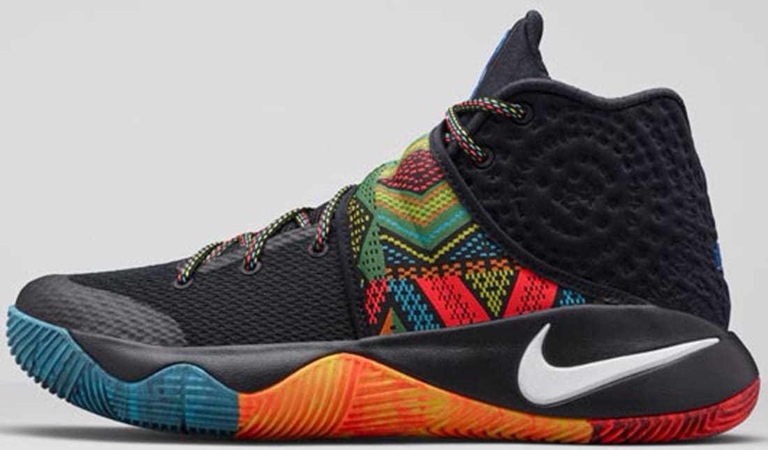 71bc371fc482 Nike Kyrie 2 BHM Black Multi-Color