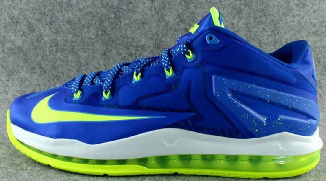 size 40 29336 954e5 Nike LeBron 11 Low Hyper Cobalt/Volt-White-Photo Blue | Nike | Sole ...