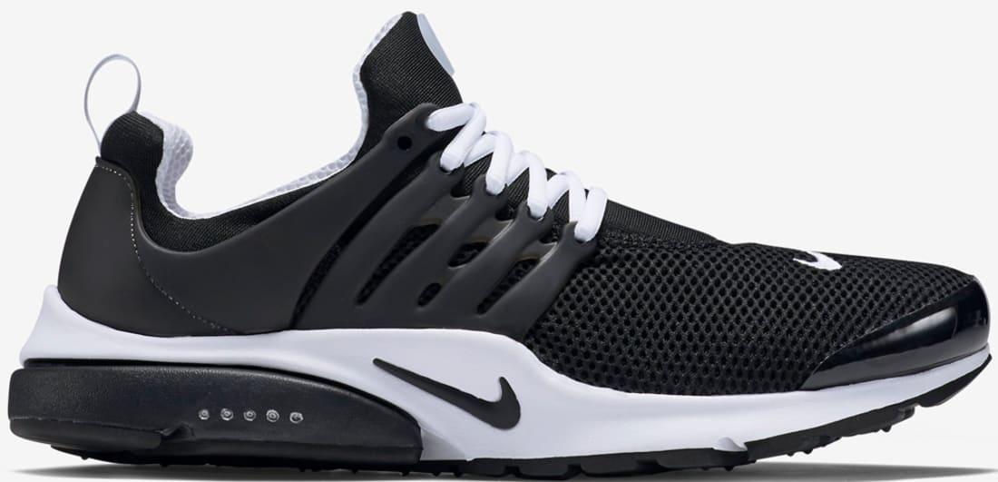 new style 6ad59 dc077 Nike Air Presto BR QS Black Black-White