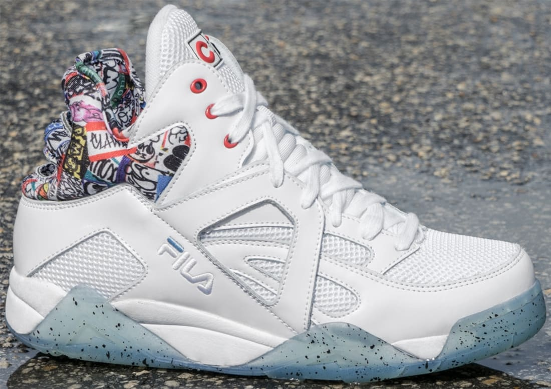 5fcdb368a774 Fila The Cage White Ice