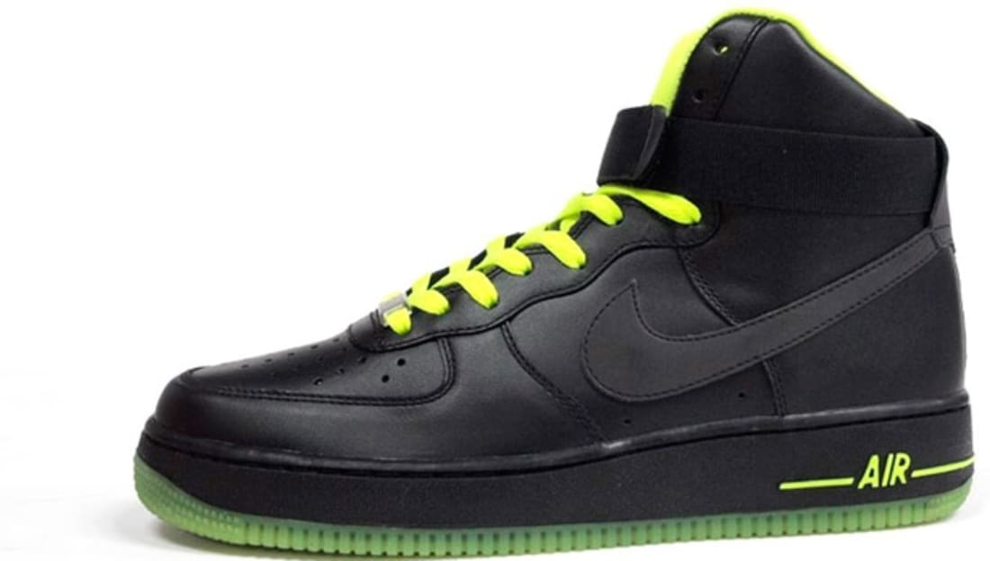 nike air force 1 volt black