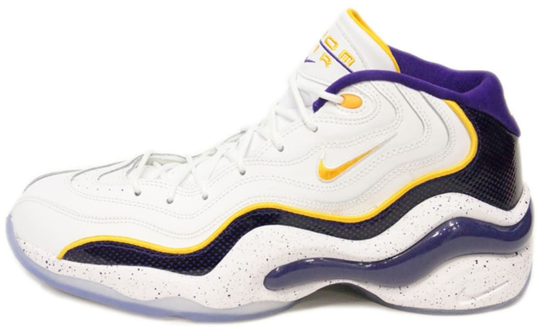 Nike Air Zoom Flight '96 White/University Gold-Court Purple