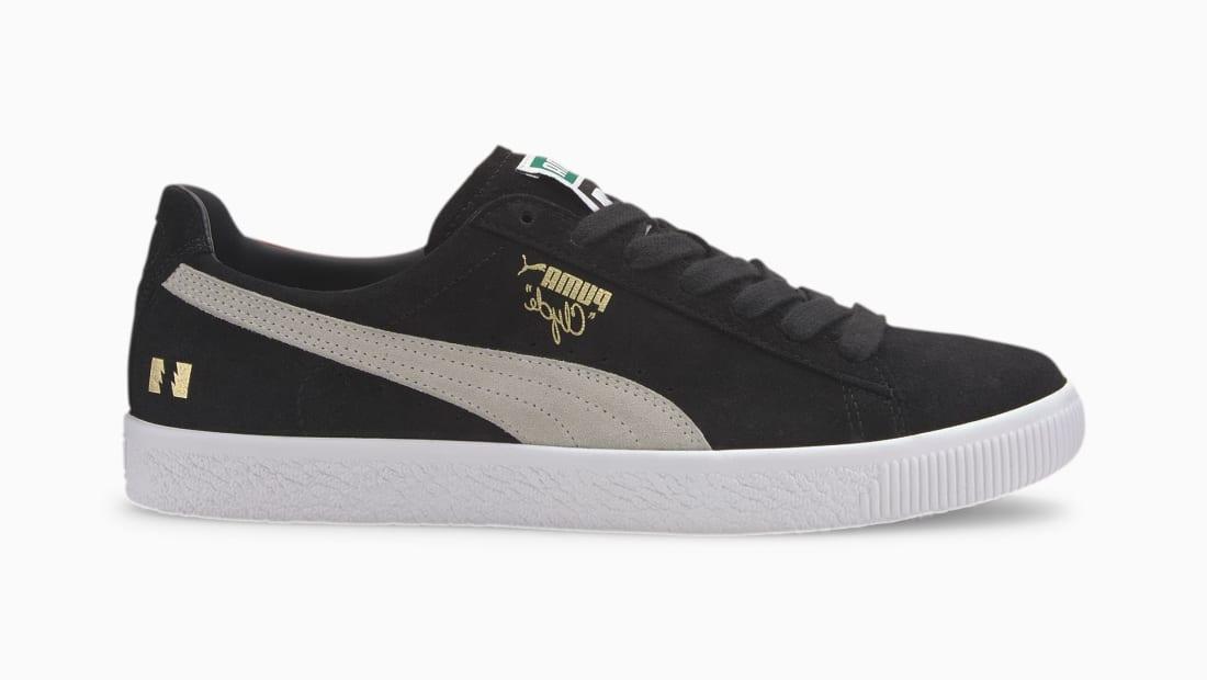 The Hundreds x Puma Clyde Puma Black-Puma White
