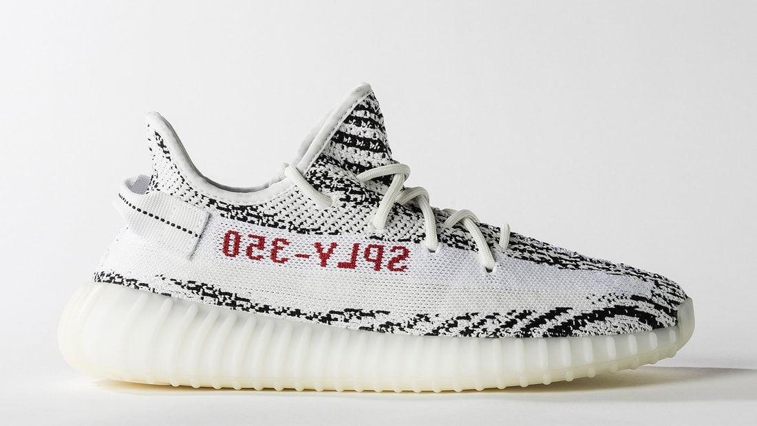 7eb0dcf90e9f2 Athletic Shoes Adidas Yeezy Boost 350 V2 Zebra 2018 CP9654 White Black Red  Size 5-12 Kanye West ...