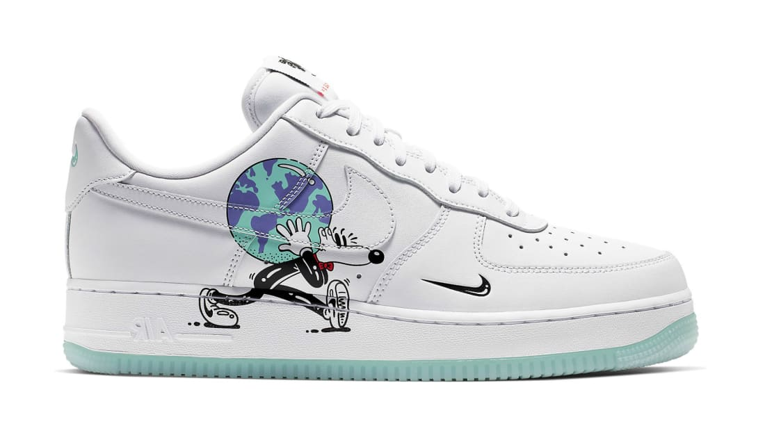 Nike Air Force 1 Earth Day Pack White CI5545 100 Release 2019