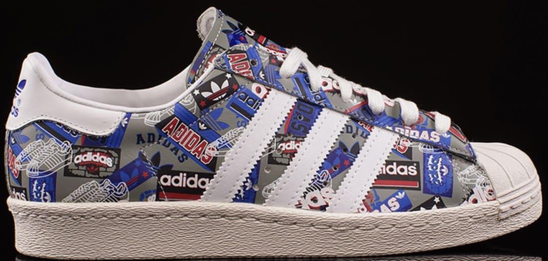 adidas Originals Superstar 80s Flat