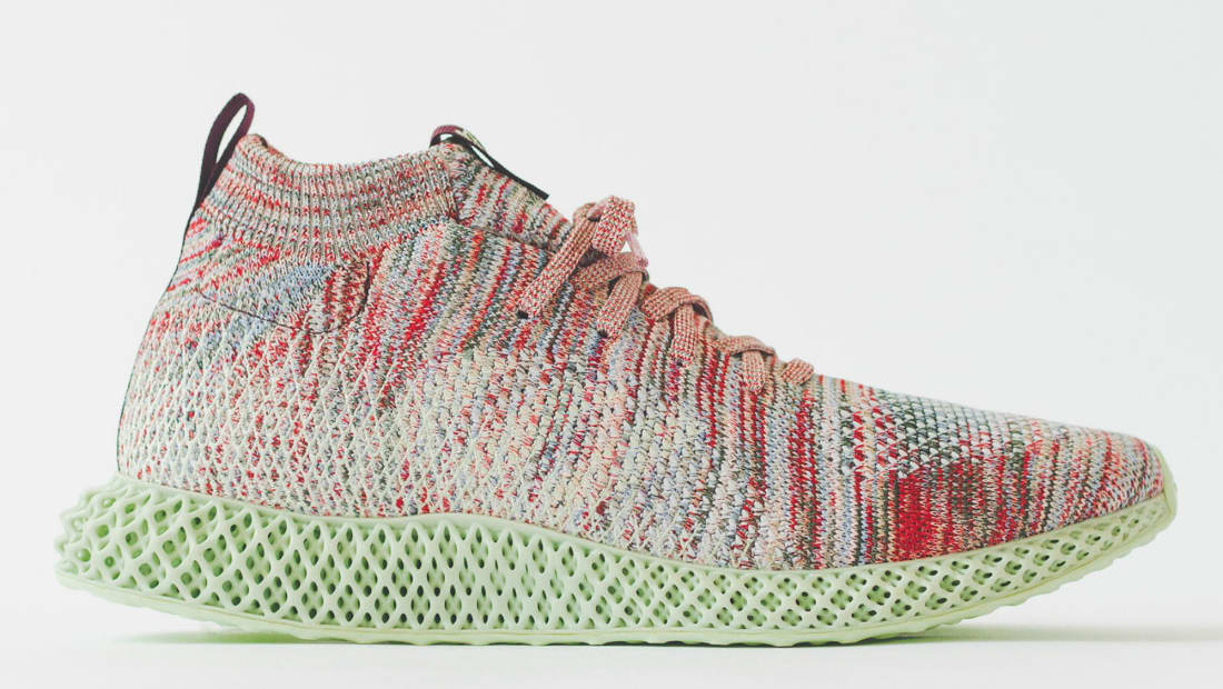 Kith x Adidas Consortium Futurecraft 4D Multi-Color/Multi-Color/Aero Green