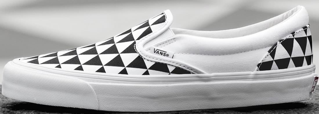 Vans OG Classic Slip-On LX White/Black