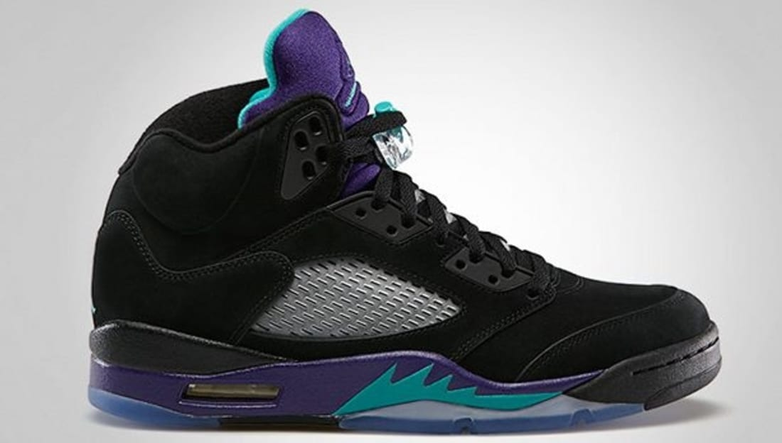 473335640e1ca2 Air Jordan 5 Retro Black Grape