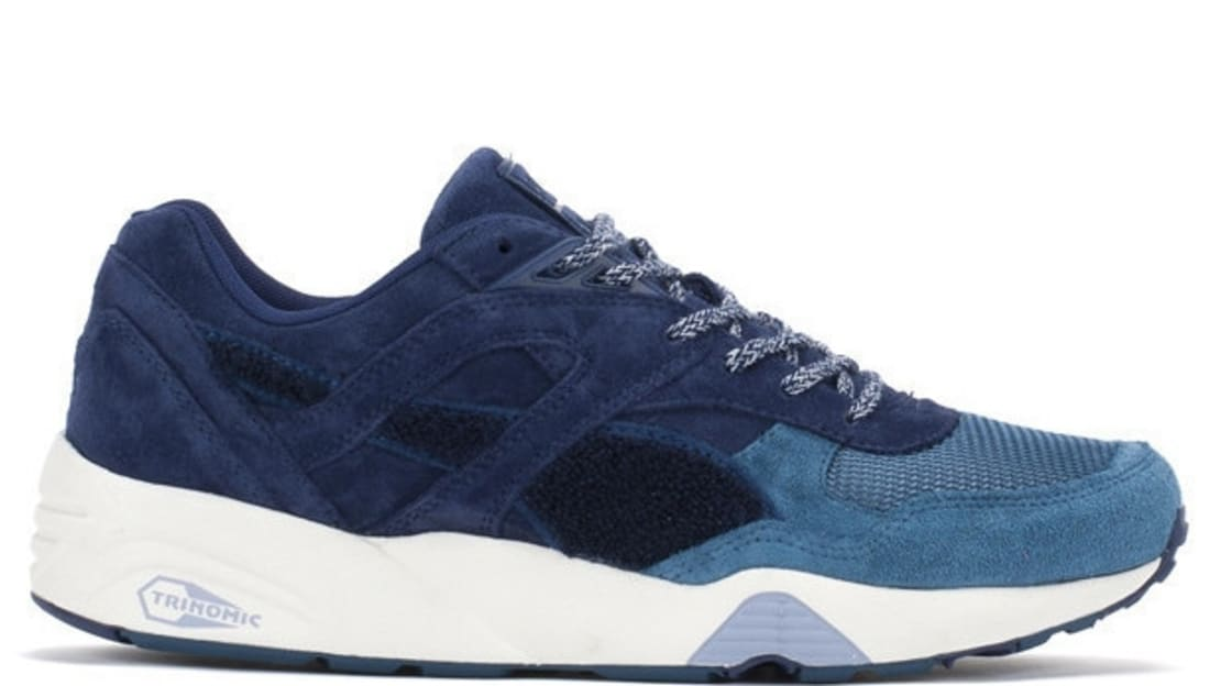 Puma R698 Trinomic Navy/White