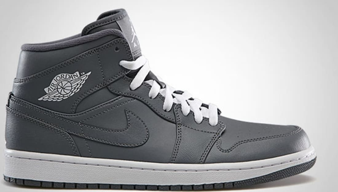 on sale 8eb20 97991 Air Jordan 1 Mid Cool Grey White