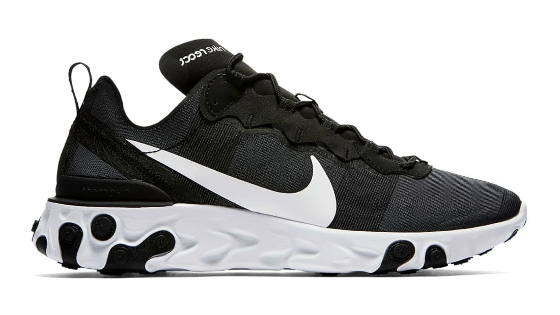 Alicia Conciliar Quien  Nike React Element 55 Black/White | Nike | Sole Collector