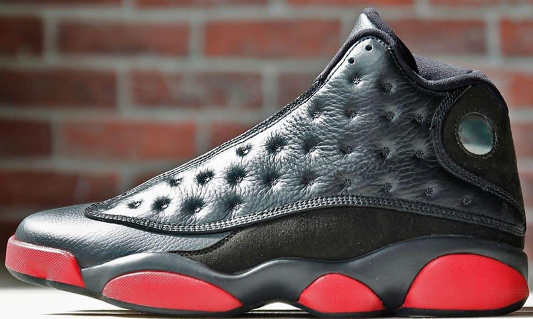 Air Jordan 13 Retro Black/Gym Red-Black
