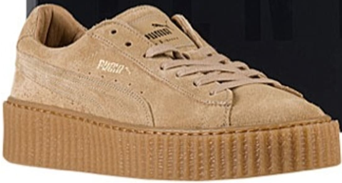 rihanna puma shoes oatmeal