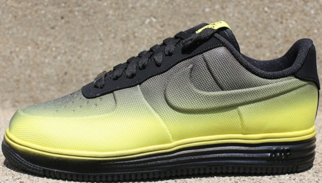 newest 54402 2ea92 Nike Lunar Force 1 VT Mesh Sonic Yellow Sonic Yellow-Black