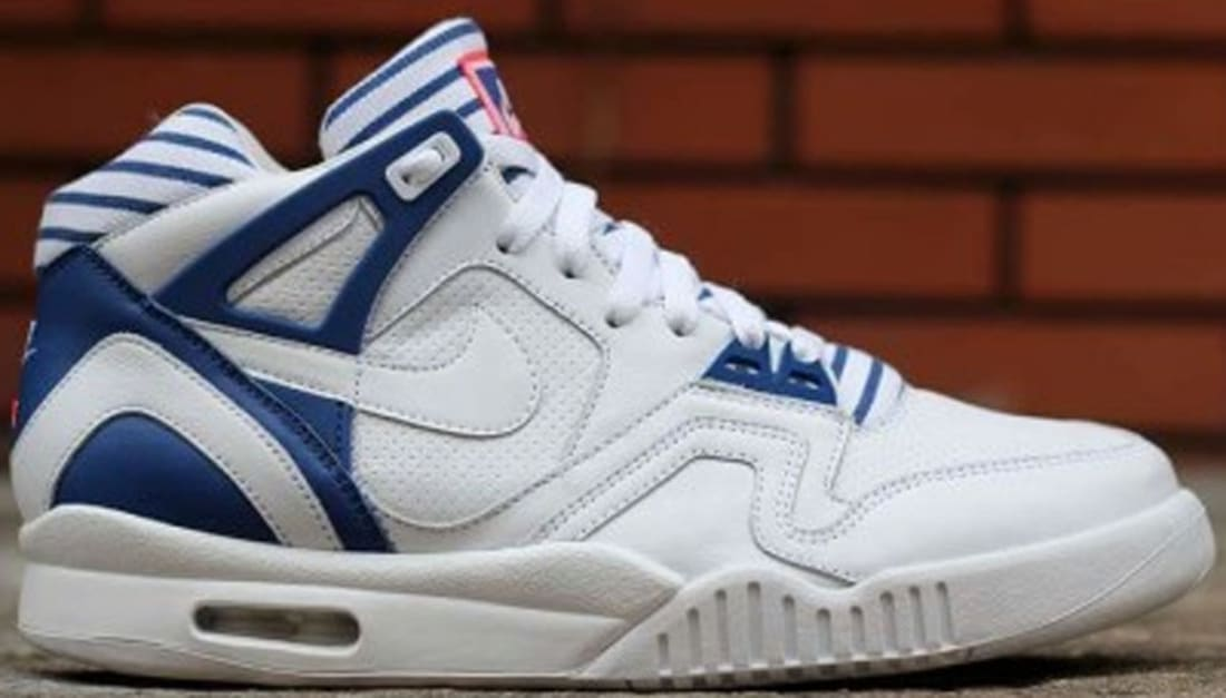 Nike Air Tech Challenge II PA White/White-Gym Blue-Bright Crimson