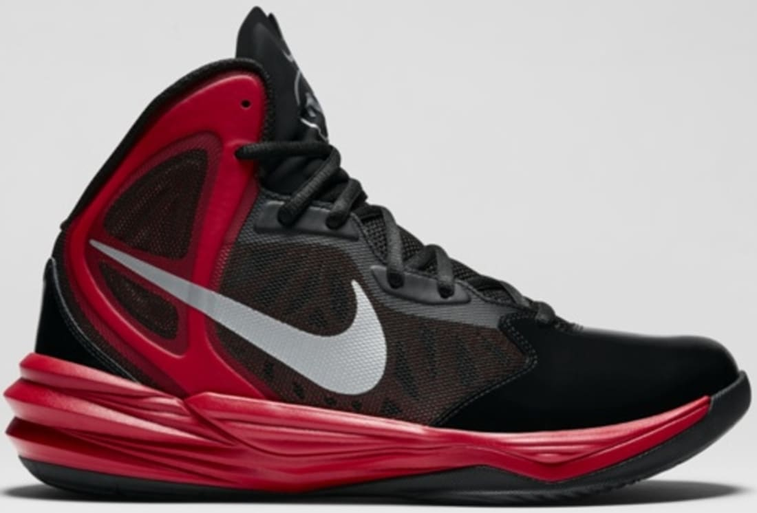 promo code 261b9 81a64 Nike Prime Hype DF Winterized N7 Black/University Red-Hyper ...