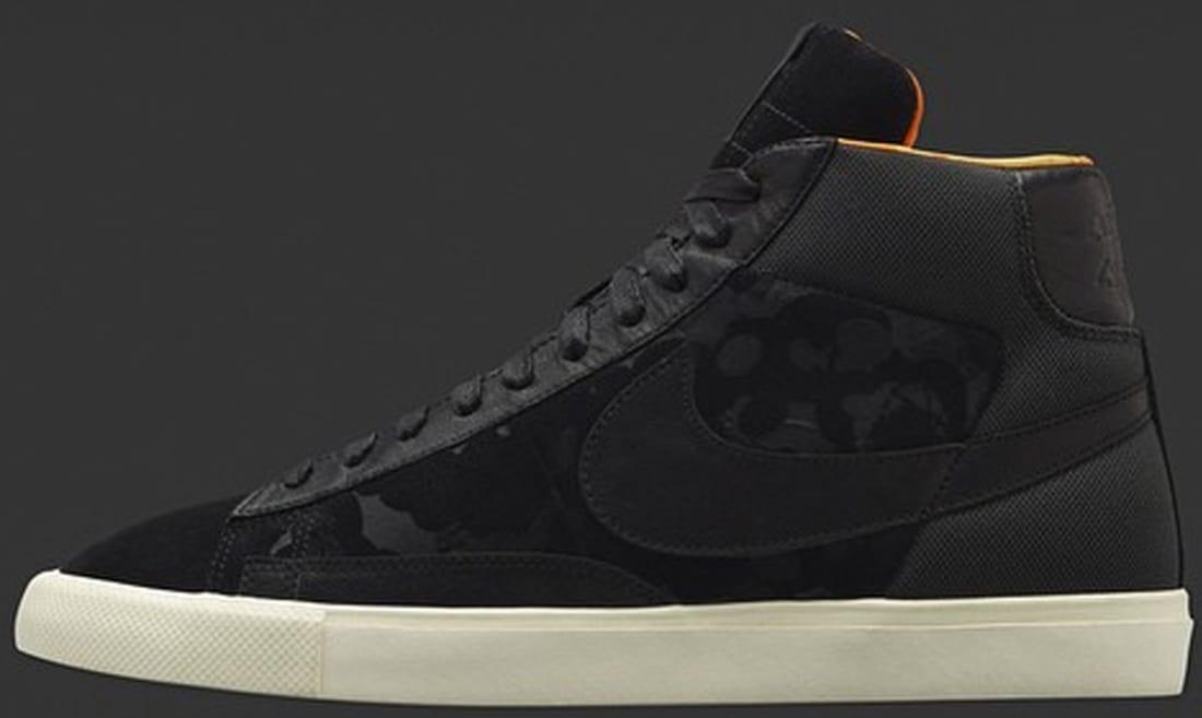 Nike Blazer Hi SP Black/Black-Copper Flash