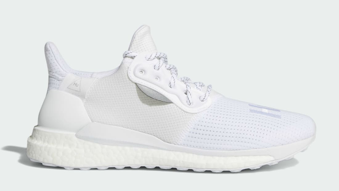Adidas Pharrell Solar Hu Glide White