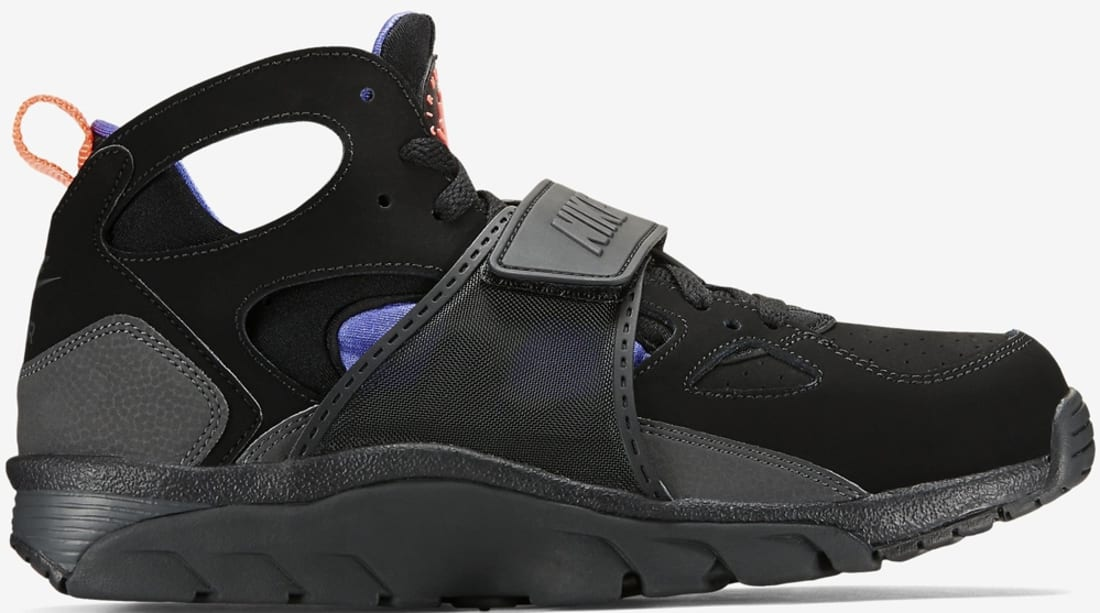 new product a7e74 5dc5b Nike · Nike Training · Nike Air Trainer Huarache. Nike Air Trainer Huarache  Black Persian Violet-Hot Lava-Anthracite