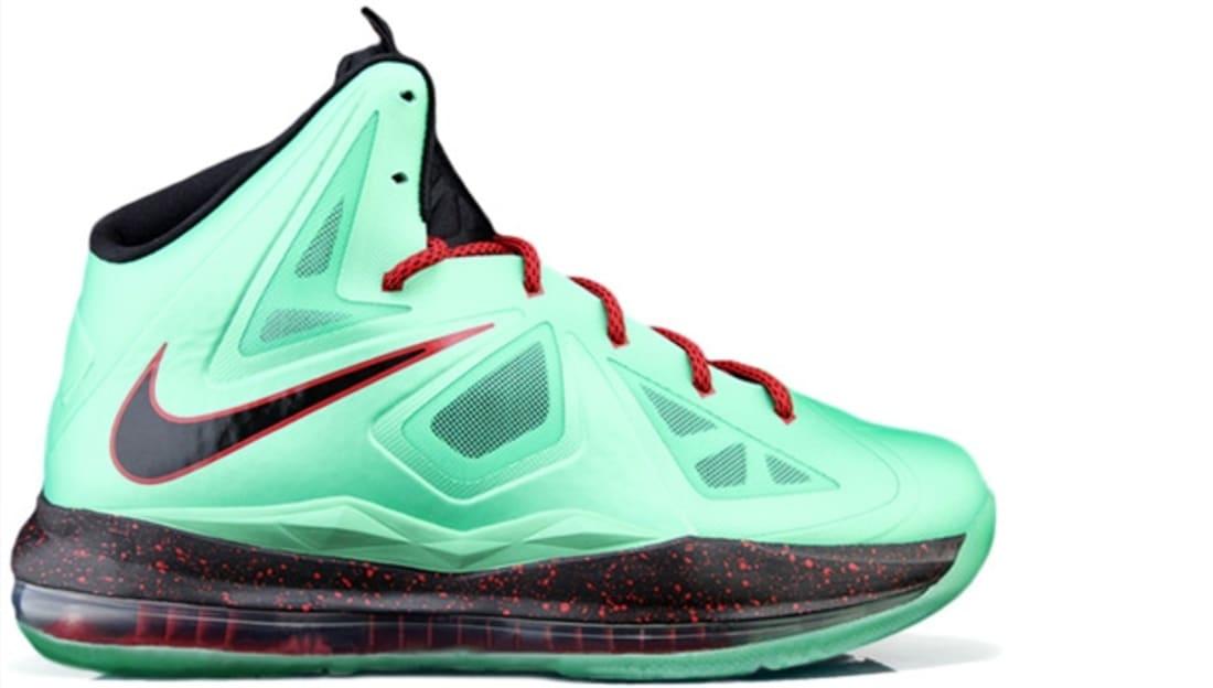 Nike LeBron X Cutting Jade China