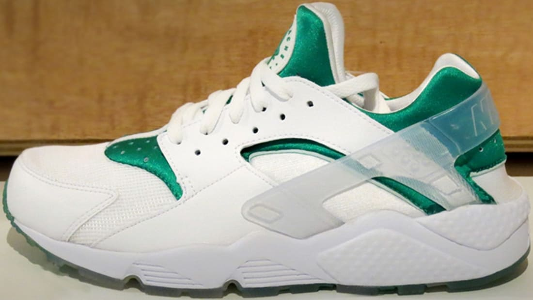 Nike Air Huarache Premium White/Emerald Green