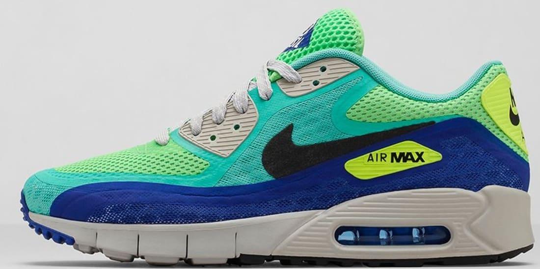 Nike Air Max '90 BRZ City Crystal Mint/Black-Hyper Blue-Straight Grey