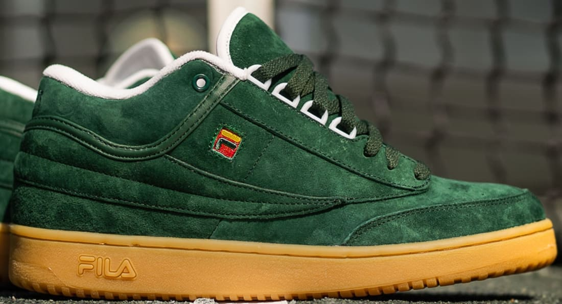 Fila T-1 Mid Green/Red-Gum
