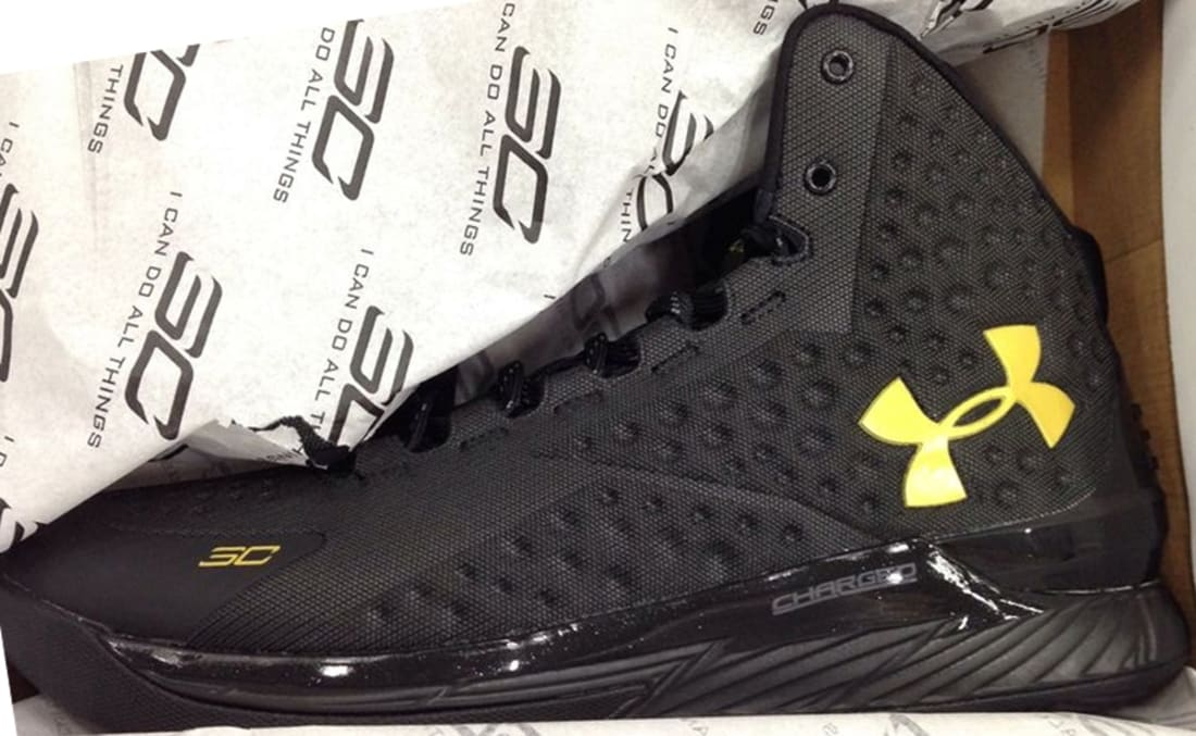 Under Armour Curry One Black/Black-Black