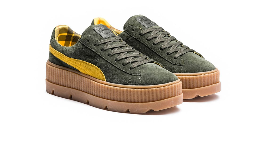 sale retailer d10ff 20671 Fenty Puma by Rihanna Cleated Creeper