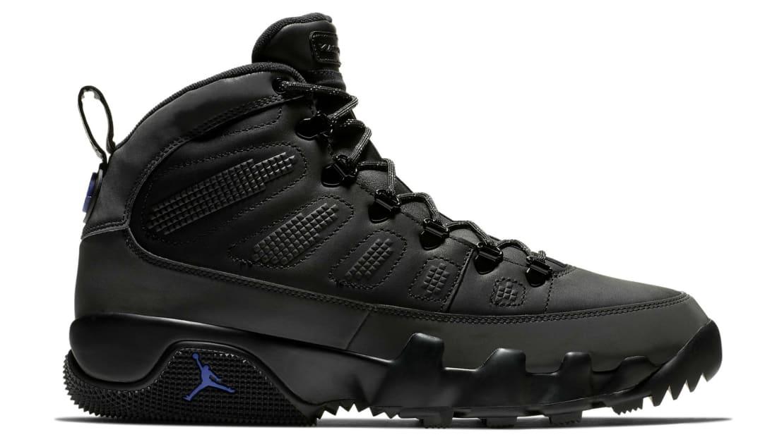 Air Jordan 9 Retro Boot NRG Black/Black-Concord
