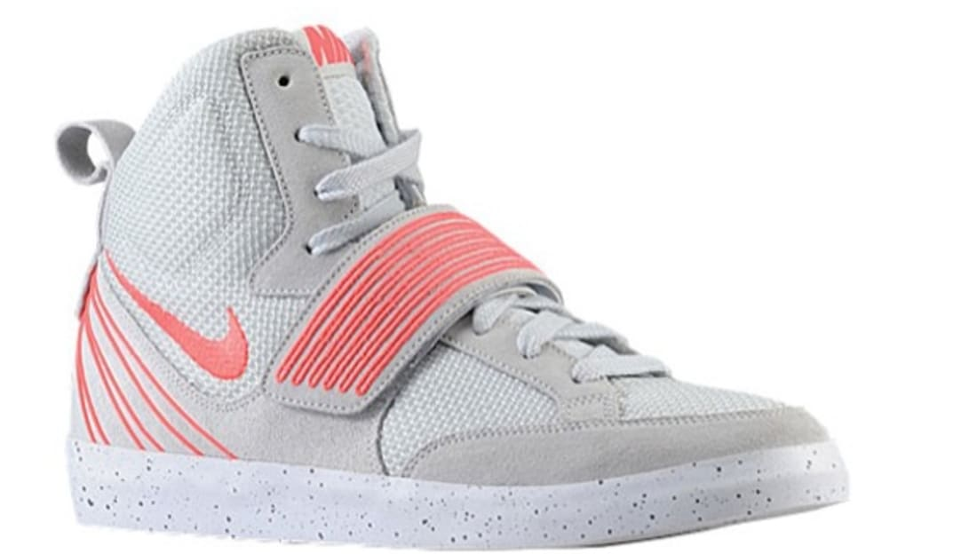 Nike NSW Skystepper Pure Platinum/Atomic Red-White