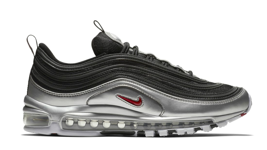Nike Air Max 97 QS Black/Varsity Red-Metallic Silver-White