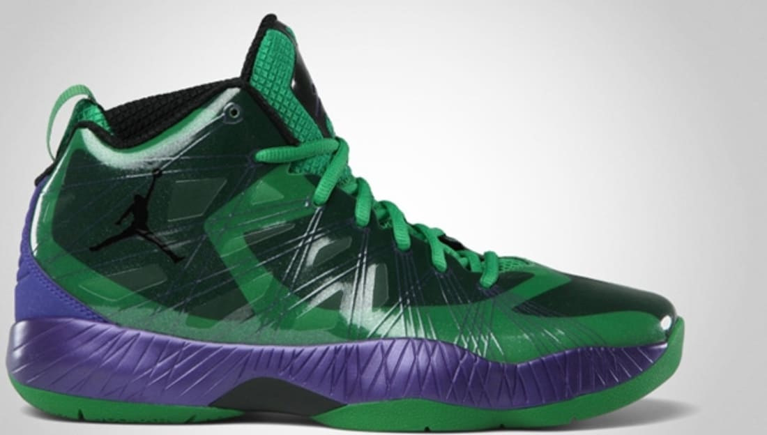 Air Jordan 2012 Lite Super Heroes Classic Green/Black-Court Purple