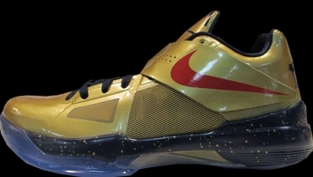 on sale ac61f 46d69 Nike · Nike KD · Nike KD 4 (IV). Nike KD 4 Gold Medal