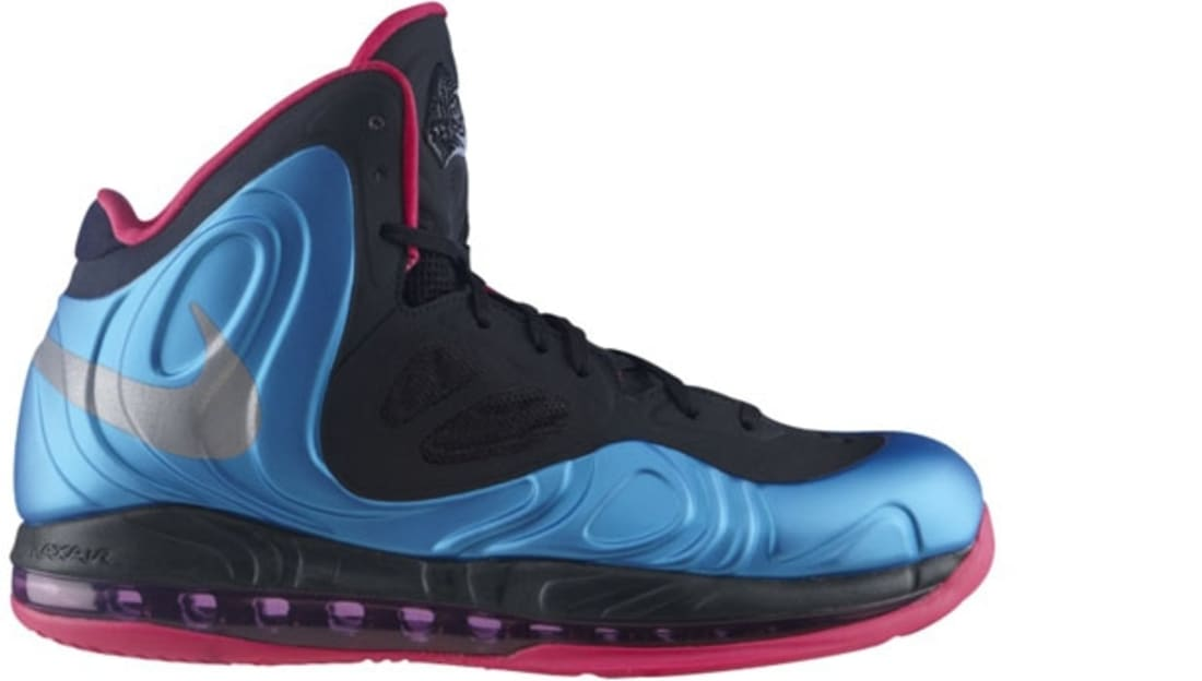 Nike Air Max Hyperposite Dynamic Blue/Reflective Silver-Fireberry