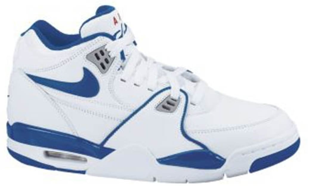 sports shoes bd16c 0a0bf Nike Air Flight  89 White Dark Royal Blue-Wolf Grey-Varsity Red