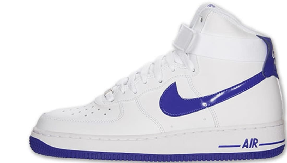 brand new 11859 a88d9 Nike Air Force 1 High White/Hyper Blue | Nike | Sole Collector