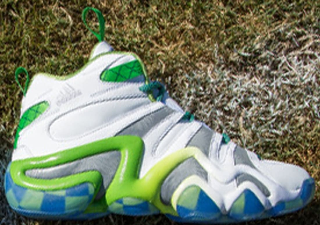adidas Crazy 8 White/Green-Silver-Blue