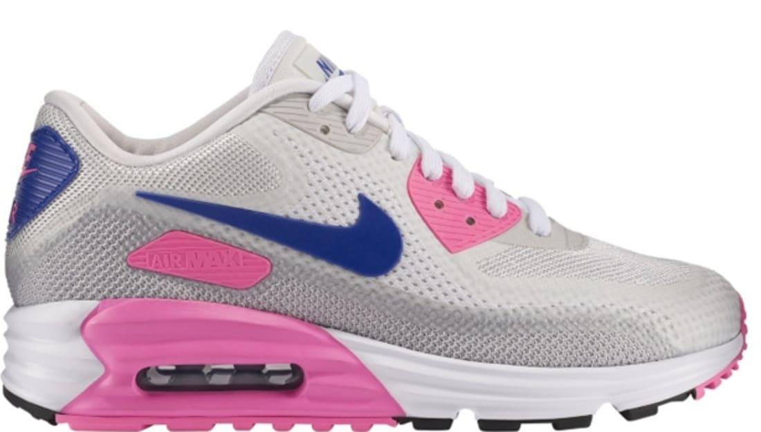 Nike Air Max Lunar90 C3.0 Women's WhiteConcord Pink Glow