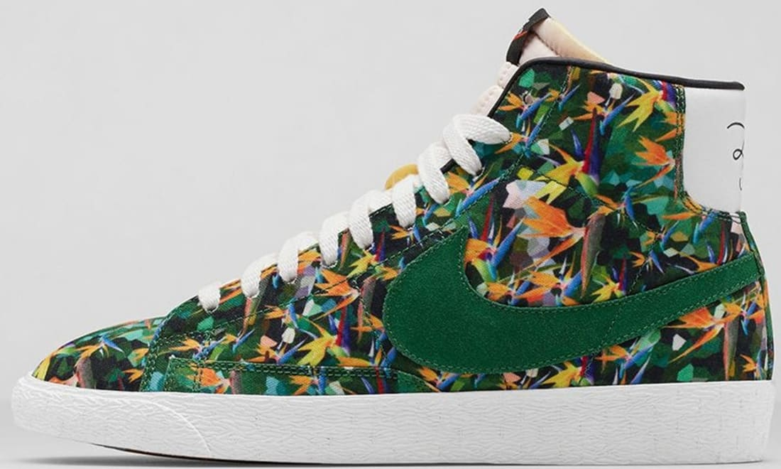 Nike Blazer Mid Premium VNTG Multi-Color/Pine Green-White