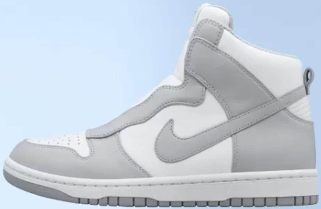 Nike Dunk Lux High x Sacai
