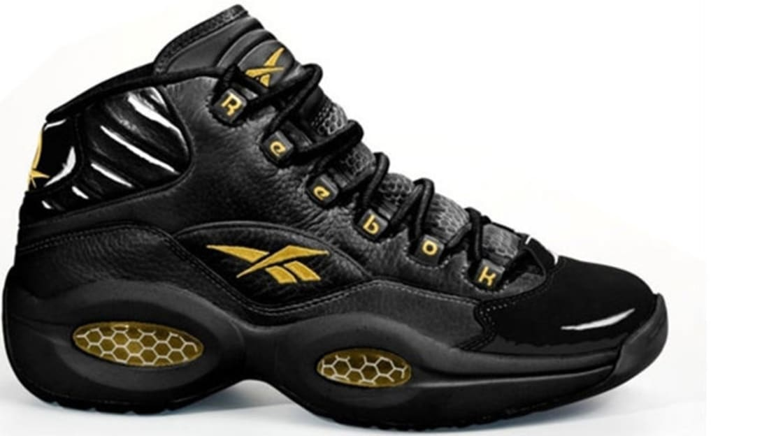 Reebok Question Mid Black/Gold
