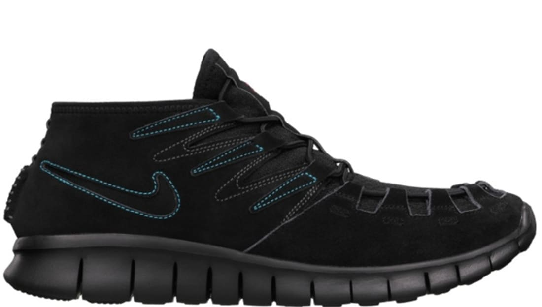 Nike Free Forward Moc N7 Black/Black-Midnight Fog-Dark Turquoise