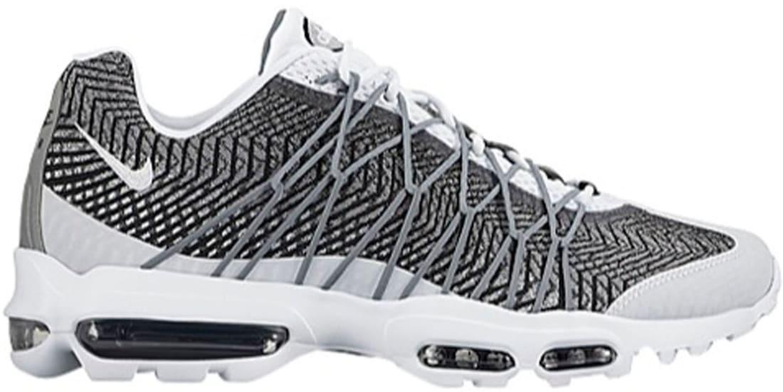Nike Air Max '95 Ultra JCRD White/Metallic Silver-Dark Grey-Black