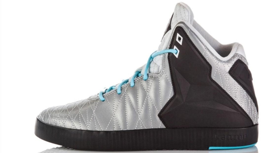 Nike LeBron XI NSW Lifestyle Reflective Silver/Reflective Silver-Dark Charcoal