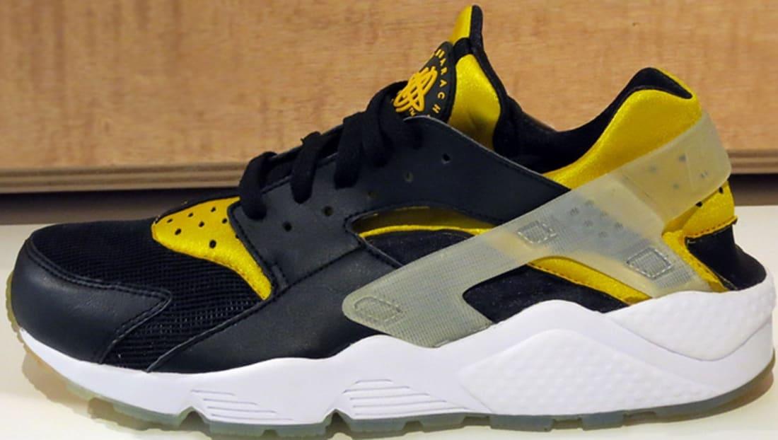 Nike Air Huarache Premium Black/University Gold