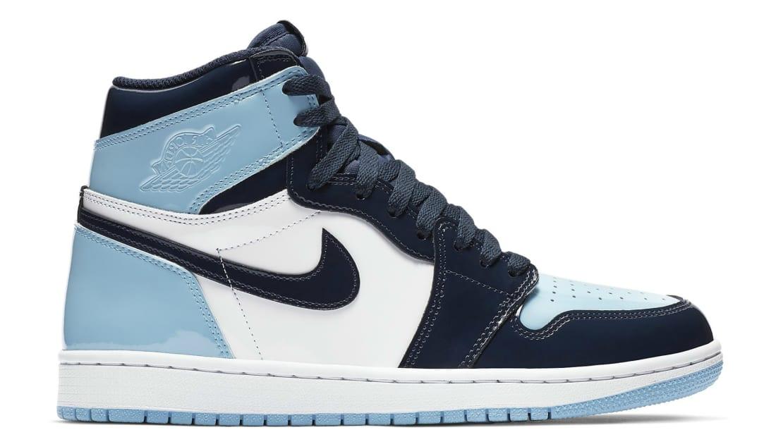 e9b04f86183c Air Jordan 1 Retro Women s High OG Obsidian Blue Chill-White ...