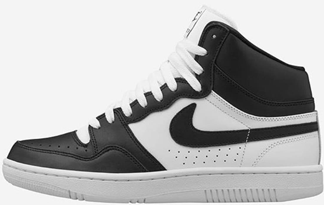 Undercover Gyakusou x NikeLab Court Force Mid Black/White
