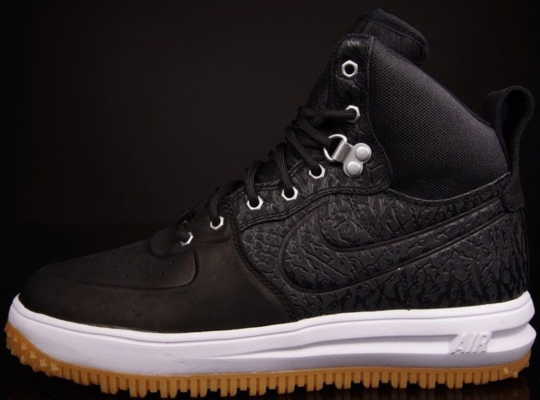 info for d1c8b c3d56 Nike Lunar Force 1 Sneakerboot Black Black-White